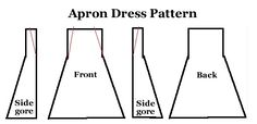 Apron dress! @Denise H. Thompson here is your dress