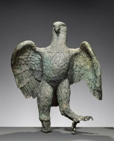 Eagle Artist/Maker(s): Unknown Culture: Roman Place(s): Asia Minor (Place created) Date: 100 - 300 Medium: Bronze Roman Artifacts, Ancient Artifacts, Roman History, Art History, Ancient Rome, Ancient History, Statues, Roman Sculpture, Bronze Sculpture