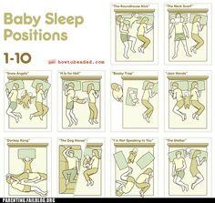 Baby Sleep Positions haha