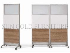 Modern Office Room Divider Removable Rolling Partition Wall (SZ-WS584)