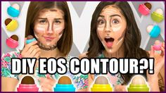 DIY EOS Contour & Highlight Sticks?! - Makeup Mythbusters w/ MayBaby &…