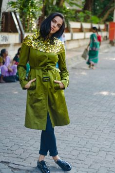 b76611a8576 art of the trench by manou Street Style India