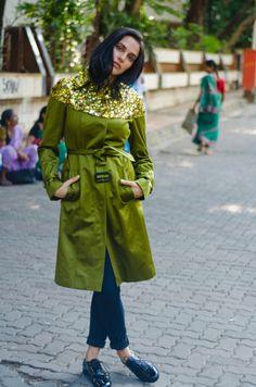 Actress Neha Dhupia wearabout india street style blog