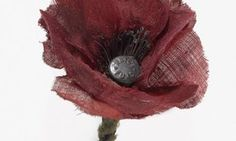 One of the oldest Scottish remembrance poppies is restored Remembrance Poppy, Armistice Day, Poppies, Restoration, Old Things, Crafts, War, Memories, Memoirs