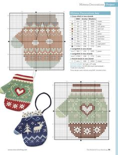 The World of Cross Stitching brings together craft experts and a community of stitchers to help you create fabulous cross stitch patterns, from traditional and Cross Stitch Christmas Ornaments, Xmas Cross Stitch, Christmas Embroidery, Christmas Cross, Cross Stitch Charts, Cross Stitch Designs, Cross Stitching, Cross Stitch Embroidery, Cross Stitch Patterns