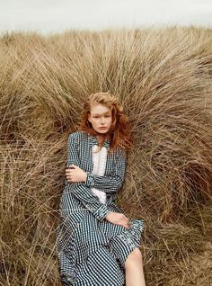The July 2016 issue of Harper's Bazaar UK puts the spotlight on the pre-fall collections with this editorial called, 'Beside the Silver Sea'. Photographed by Agnes Popieszynska and styled by Charlie Harrington, Hollie-May Saker heads outdoors for a fashionable journey including a horse and romantic landscapes. Whether in a dramatic cape or long-sleeve dress, the …