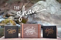 The #Shaving Set, by #HarvestBeard.