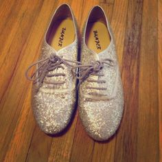 Glitter Flats Want some flair and unique pieces in your closet? Then these are perfect! These silver glitter flats are a cute and comfy addition to any outfit and also double as a beautiful statement piece. Shoes Flats & Loafers