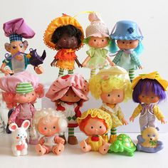 Strawberry Shortcake Collection - Original  LOVED THESE!