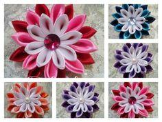Ribbon flower & kanzashi by susindra.com