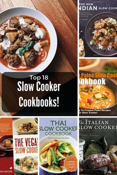 18 Best Slow Cooker Cookbooks Reviewed! Best Slow Cooker, Slow Cooker Recipes, Paleo Recipes, Noodle Soup, Chutney, Cook Books, Cooking, Ethnic Recipes, Soups