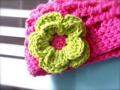 crochet flower patterns   here s another crochet flower pattern this one is a little bit more ...