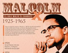 Malcolm X, Jobs Apps, Biography, Read More, Infographic, Graphic Design, Gallery, Biographies