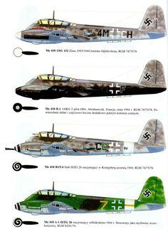 messerschmitt ME 210/410