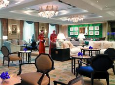 Shangri-La Bosphorus Istanbul, Lobby Lounge