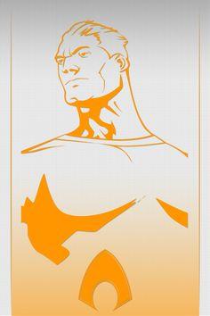 Aquaman wall by crost92