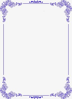 Blue flowers border, Blue, Atmosphere, Flowers PNG Image and Clipart Frame Border Design, Page Borders Design, Borders For Paper, Borders And Frames, Wedding Borders, Doodle Frames, Alcohol Ink Crafts, Flower Background Wallpaper, Floral Embroidery Patterns