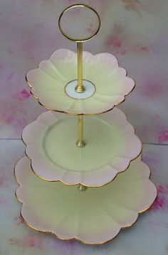 2 tier Cake Stand - Jewelry stand ~ Peony and Thistle | Cake plates \u0026 stands | Pinterest | Tiered cake stands Jewelry stand and Tiered cakes & 2 tier Cake Stand - Jewelry stand ~ Peony and Thistle | Cake plates ...