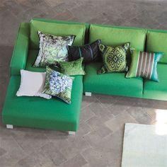 Madhuri Granite Cushion | Designers Guild