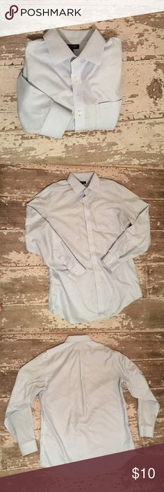 👔Men's Banana Republic Dress Shirt / Size Large👔 Men's Banana Republic Button Down Collar Dress Shirt • Lighting wasn't great, this is a light blue denim color • Size Large 16/16 1/2 • Non Iron • Classic Fit • 100% Cotton • Great preowned condition • Only Flaw is; some staining on back of collar; see last photo • Bundle with my other mens listings. More to come! 👔🛍 Banana Republic Shirts Dress Shirts