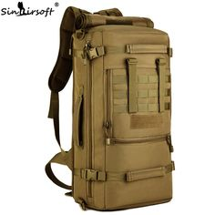 b5ba9614e1 SINAIRSOFT 2017 New Military Tactical Backpack Camping Bags Mountaineering  bag Men s Hiking Rucksack Travel