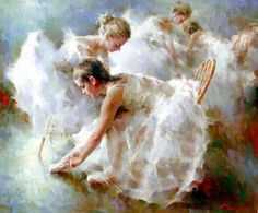 Ballet Oil Painting, 100% Hand-painted on Canvas by Outstanding Artists, Museum Quality and Affordable Price. Description from daydaypaint.com. I searched for this on bing.com/images