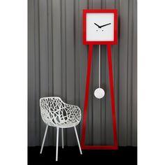 Horloge comtoise design Epurée GM Mais moi je préfère la chaise :P
