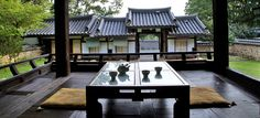 Hanok Korean traditional house