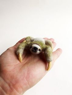 Felted sloth