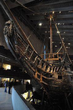 The Vasa Museum, Stockholm, Sweden, Scandinavia. Ship Mast, Big Yachts, Full Sail, Travel Around Europe, Wooden Ship, Sail Away, Photo Essay, Tall Ships, Boat Building