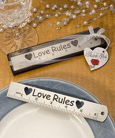 Great idea for teacher weddings!