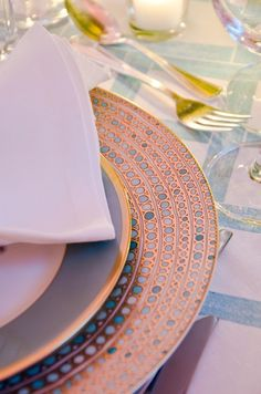 Haviland dinnerware from Mottahedeh
