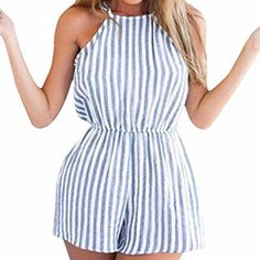 Cheap backless playsuit, Buy Quality party jumpsuit directly from China playsuit bodycon Suppliers: Factory Price! Women Clubwear Halter Backless Playsuit Bodycon Party Jumpsuit Romper Trousers Asian Size S M L XL Rompers Women, Jumpsuits For Women, Beach Jumpsuits, Clubwear, Backless Playsuit, Beach Playsuit, Romper Swimsuit, Halter Jumpsuit, Romper Outfit