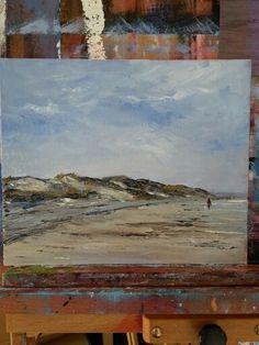 Murlough Bay Co.Down oil on canvas 12 x 10 ins.