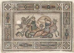 Les mosaiques antiques de Zeugma   mosaiques antiques grecques de zeugma 2000 ans 9