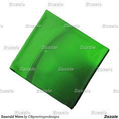 Emerald Wave Bandana