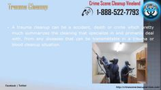 Crime Scene Cleanup Vineland | 1-888-522-7793 | Death,Blood,Accident,Trauma