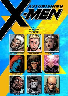 X-Men Astonishing Team Marvel And Dc Characters, Comic Book Characters, Comic Books, Storm Marvel, Marvel Dc Comics, Man Character, Comic Character, Marvel Universe, Marvel Facts