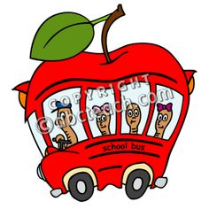 Cute back to school clipart