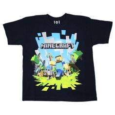 Minecraft - Camiseta de manga corta - para niño multicolor multicolor 11 años #regalo #arte #geek #camiseta