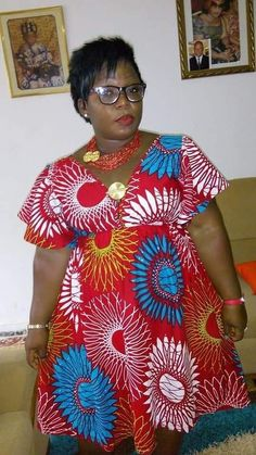 Beautiful Ankara Styles for the Plus size Ladies African Fashion Ankara, Latest African Fashion Dresses, African Print Fashion, Ghana Fashion, Short African Dresses, African Print Dresses, Africa Dress, African Traditional Dresses, African Attire