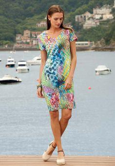 Vestido verano Egatex modelo Wild.