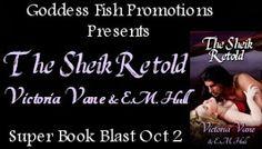 BOOK BLAST & GIVEAWAY- THE SHEIK RETOLD BY VICTORIA VANE