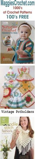 Crochet Pattern Central - Free, Online Crochet Patterns - Beginner Crochet Instructions - Crochet Tips, Tricks, Testimonials and More! Crochet Bebe, Baby Girl Crochet, Love Crochet, Crochet For Kids, Beautiful Crochet, Crochet Books, Crochet Crafts, Crochet Projects, Crochet Tutorials