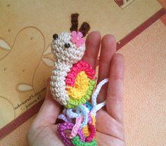 Pacifier crochet pattern nekomaru85.etsy.com