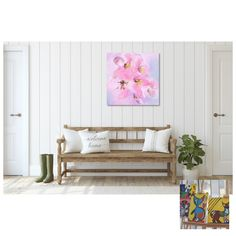 Pinkshade Flowers - Flowerly Abstracts - Square Art - Wall Art Prints - Digital Downloadable Prints #Flowers #Square #Pink Printing Services, Online Printing, Wall Art Prints, Fine Art Prints, Square Art, Types Of Printer, Home Printers, Decorating Your Home, Abstract