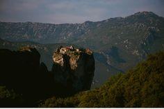 Meteora - Kalambaka - Griechenland - Klöster_sunrise