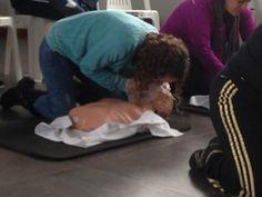 Capacitación de primeros auxilios - Repiración bucal