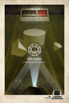 Lost - The Swan - Dharma poster