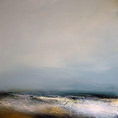 Edge Oil On Canvas 76cm x 76cm by Dion Salvador Lloyd www.dionsalvador.co.uk